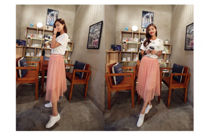 161001 Korean Promo Maxi skirt (13 COLORS AVAILABLE)