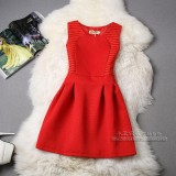170221 READY STOCK Korean Office Ladies Dress