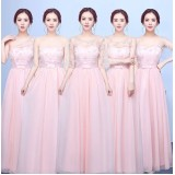 170202 Bridesmaid long dress (4 COLORS AVAILABLE)