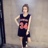 170231 READY STOCK Sporty Sleeveless Long T shirt
