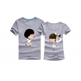 210003 Wedding Brother/ Bridesmaid Couple T shirt (9 COLORS AVAILABLE)