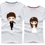 ELFBOUTIQUE 210015 Couple T shirt