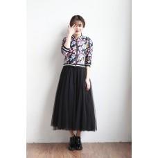 170502 Korean Tutu Maxi Skirt 3 types of length