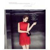 ELFBOUTIQUE 410008 Korean Fashion Clubbing Off Shoulder Dress Dinner Dress Lace Dress FREE SHIPPING