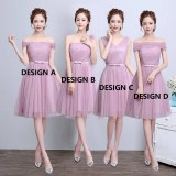ELFBOUTIQUE 170701 BRIDESMAID DRESS/ EVENING GOWN/SHORT DRESS