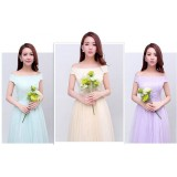 ELFBOUTIQUE 170901 Bridesmaid Maxi Dress strap back FREE SHIPPING