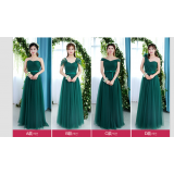 ELFBOUTIQUE 556 Turquoise Bridesmaid Long Dress/ Evening Gown strap back FREE SHIPPING Green