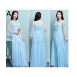 Y201726 Bridesmaid Long Dress/ Evening Gown FREE SHIPPING