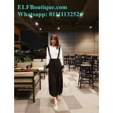 AURORA 171020 Maxi Jumper Skirt READY STOCK blue black pink purple FREE SHIPPING