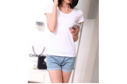 171202 AURORA Premium Quality T shirt/ Black White