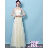 171211 ELFBOUTIQUE Premium Quality Dinner gown/ Champagne/ Yam Purple /Grey