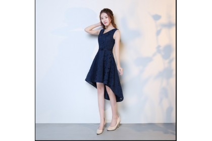 V038 ELF BOUTIQUE Premium Bridesmaid Dinner Gown/ Dress FREE SHIPPING/ dark blue, red, champagne