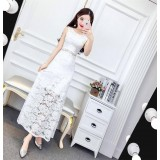 171241 Ready Stock Dinner Gown FREE SHIPPING/ White, Black