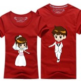180106 ELF WEDDING BROTHER/ BRIDESMAID COUPLE T SHIRT (13 COLORS AVAILABLE)