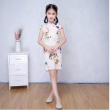 66006 Kids Cheong Sam/ Chinese Traditional Wear/ New Year Retro Wear