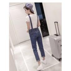 171248 AURORA Jeans Jumpsuit Suspender Pants Romper Playsuit S-5XL