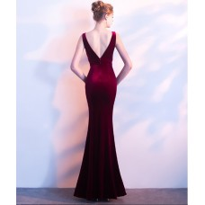66603 ELF European Off Shoulder Dinner Gown Premium FREE SHIPPING/ wine red, black, blue, green