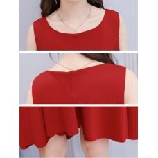 66650 ELF BOUTIQUE PREMIUM Korean Designed Casual Dress Plain Design A line Dress Off Shoulder FREE SHIPPING