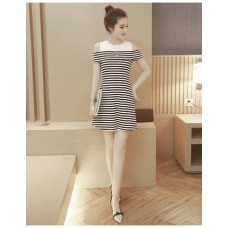 180312 Imported Off Shoulder Dress/ Ready stock
