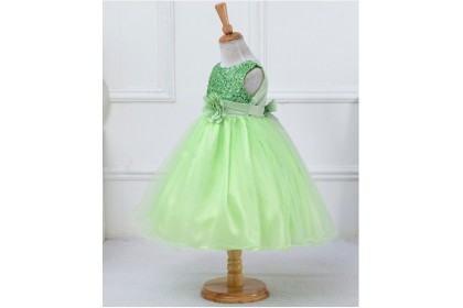 067 ELFBOUTIQUE Flower Girl Dress/ Gown Kid/ Performance/ Party /Princess/ Blink /Baby Girl