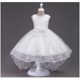 005 Elf boutitque Flower Girl Dress Gown Kid Performance Party Princess Baby Girl FREE SHIPPING