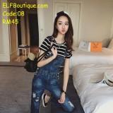 08 AURORA Jeans Jumpsuit