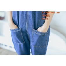 180550 Aurora Jeans Jumpsuit