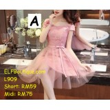 909short ELFBoutique Premium Strap Dinner Gown Evening Dress custom made Free Shipping
