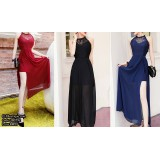 180792 ELFBoutique Premium Lacey Dinner Gown Long Dress Evening Gown Free shipping