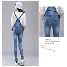 180641 AURORA Premium Quality Jumpsuit Playsuit Jeans Long Pants