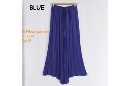 180724 AURORA PREMIUM QUALITY LONG DRESS BLACK PINK GREY NAVY BLUE MAROON BLUE