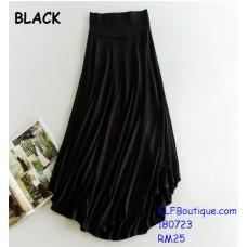 180723 AURORA PREMIUM QUALITY LONG DRESS BLACK GREY NAVY BLUE MAROON
