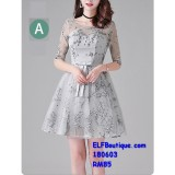 180603 Premium Dinner Gown Short Evening Dress custom made Free Shipping
