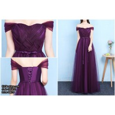 180832 Premium Dinner Gown Long Evening Dress Free Shipping