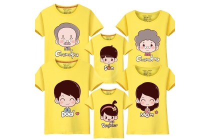 181047 CHINESE NEW YEAR FAMILY TSHIRT (6 COLOURS)