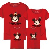 181054 MICKEY MINNIE FAMILY TSHIRT