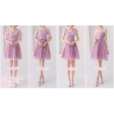 190421 Bean Bridesmaid Dress