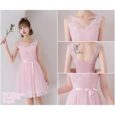 190421 Pink Bridesmaid Dress