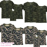 190438 Camouflage Short Sleeve Family T-shirt