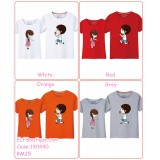 190440 Cartoon character Couple Wear T-shirt