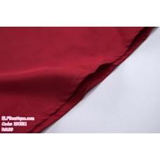 190511 European Round Neck Plain Ribbon Waist Maxi Dress