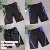 190713 Men Plus Size M-4XL Short Swimming Pant Swimsuit Beachwear