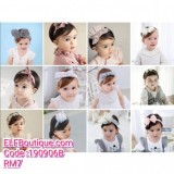 190906B Baby New Head Band Assorted Design and Colour