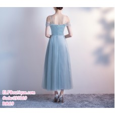 191069 Summer New Toast clothing hosted banquet annual dinner sling dress Wine Red/ Green Grey