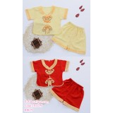 191125 Baby Boy Tang Suit Chinese New Year Set Yellow/Red