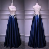 191117 Elegant Dinner Gown Wedding Evening Hosted Cocktail Party Maxi Dress