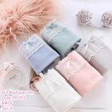 191253 Ladies Cotton Panties 6Pcs Set