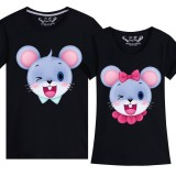 191255 Mousy Year Chinese New Year Couple Family T-Shirt 11 Colours
