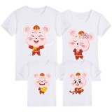191203 Mouse Year Chinese New Year Family T-Shirt 11 Colours