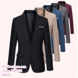 200202 MALE BROTHER GROOM COAT MAN FORMAL WEAR GREY BLACK NAVY WINE RED PLUS SIZE M TO 6XL